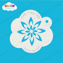Picture of Frost Flower - Dream Mylar Stencil - 294