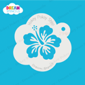 Picture of Tropical Hibiscus - Dream Mylar Stencil - 296